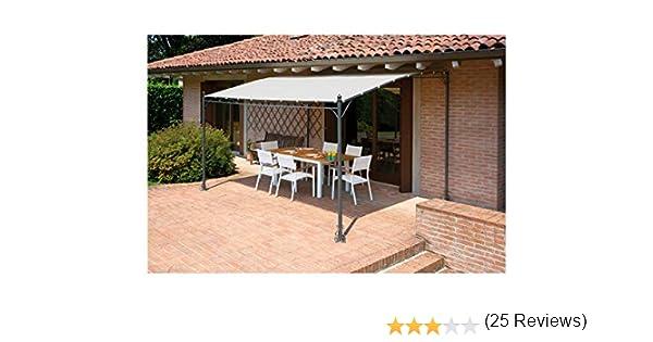 Cenador pérgola de jardín, 3 x 4 m: Amazon.es: Jardín