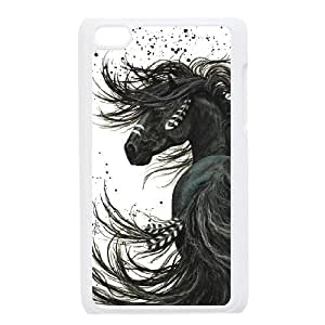 JJZU(R) Design New Fashion Phone Case with Horse for Ipod Touch 4 - JJZU899748