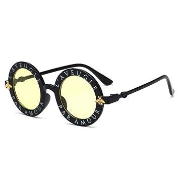 KCJKXC Steampunk Bee Niños Gafas De Sol Niños Chicas Vintage ...