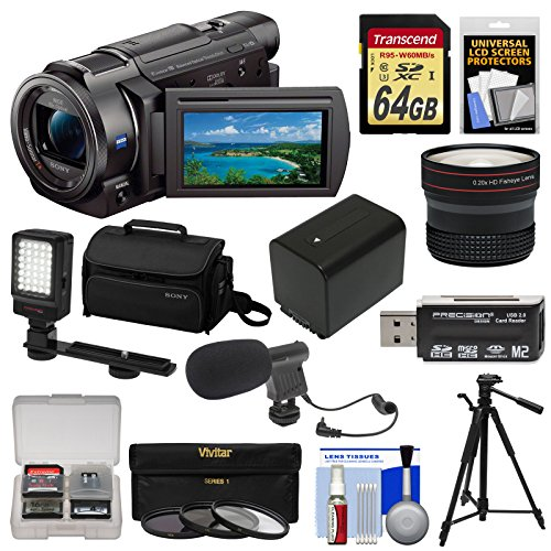 Sony Handycam FDR-AX33 Wi-Fi 4K Ultra HD Video Camera for sale  Delivered anywhere in USA