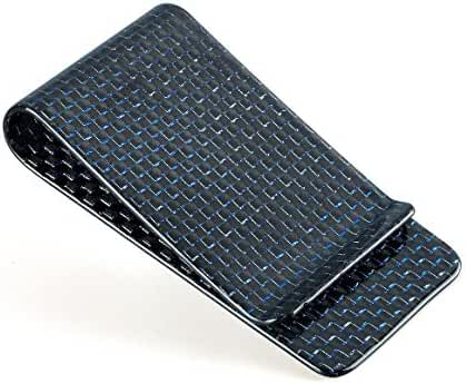 CL Carbonlife(TM) Carbon Fiber Glossy Money Clip Credit Card Business Card Holder