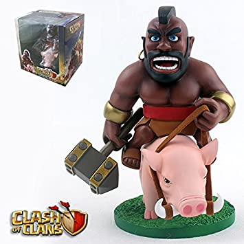 Figura de acción: Clash of Clans Hog Rider(Montapuercos) Action Figure 5.7 Inch