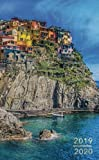 2019-2020: Two-Year Monthly Pocket Planner with Phone Book + Notebook | Beautiful Italian Amalfi Coastline (24 Month Calendar) (Volume 16)