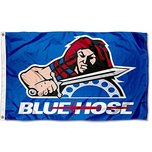 (Presbyterian College Blue Hose Flag)