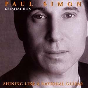 paul simon paul simon greatest hits shining like a national guitar music. Black Bedroom Furniture Sets. Home Design Ideas