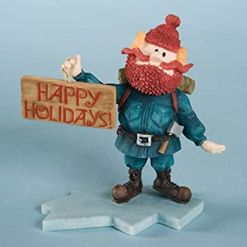 Rudolph The Red-Nosed Reindeer Yukon Figurine Happy Holidays