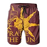 Shotry Beach Shorts Swim Trunks Quick Dry Praise The Sun.PNG Running Board Short Pants Men's Trousers With Pockets