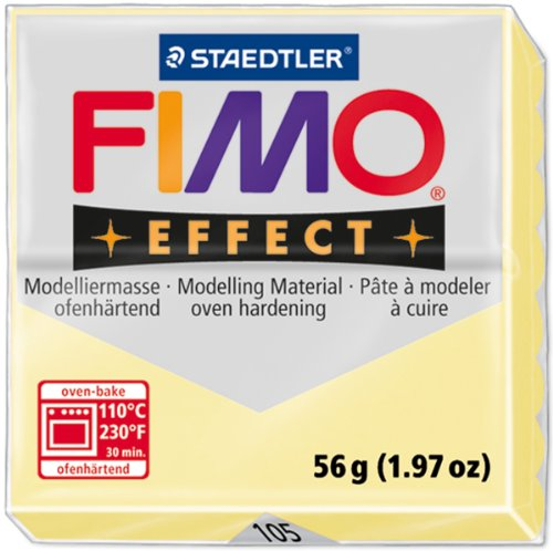 - Fimo Effect Polymer Clay 2oz-Vanilla