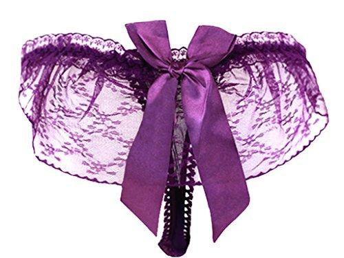 Camiseta Ladies Tense Lencería Pantalones Mujer Lencería Pantalones Mujer Lencería ( Color : Rojo ) Purple