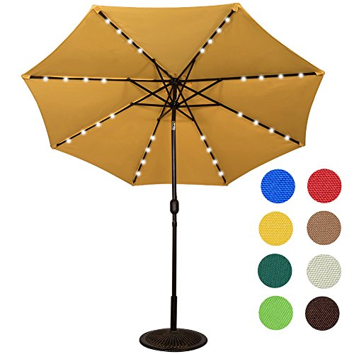Sundale Outdoor Powered Lighted Umbrella product image