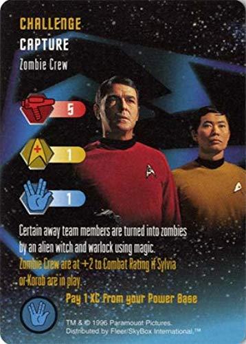 Zombie Crew Star Trek: The Card Game, Starfleet Maneuvers - Fleer/Skybox, 1996