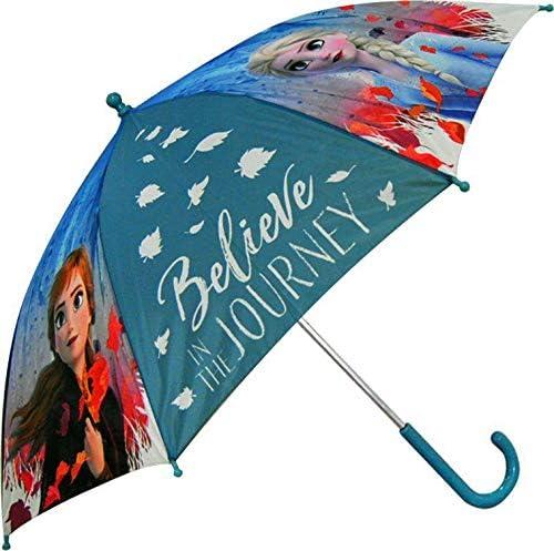 Multicolore Taille Unique Disney Frozen 45cm Auto 2 Parapluie Camping et Randonn/ée Enfant Jeunesse Unisexe Multicolore