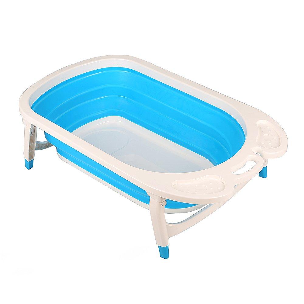 Aojia Baby Folding Bath, (Blue),QFY1576Blue (Blue),QFY1576Blue CCQFY1576