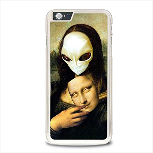 Coque,Mona Lisa Alien Case Cover For Coque iphone 5 / Coque iphone 5s