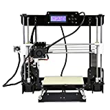 Anet A8 3D Printer, Prusa i3 DIY,High Accuracy Self Assembly ,SD card Printing ,Support ABS / PLA / Wood / Nylon PVA / PP / Luminescent