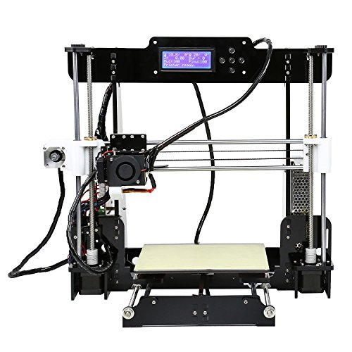 Anet A8 3D Printer, Prusa i3 DIY,High Accuracy Self Assembly ,SD card Printing ,Support ABS / PLA / Wood / Nylon PVA / PP / Luminescent by Anet