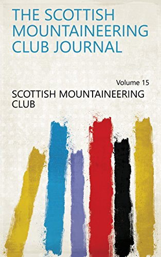 The Scottish Mountaineering Club Journal Volume 15
