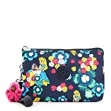 Kipling Disney Alice in Wonderland Collection Creativity Xl Printed Pouch, Tea Rose