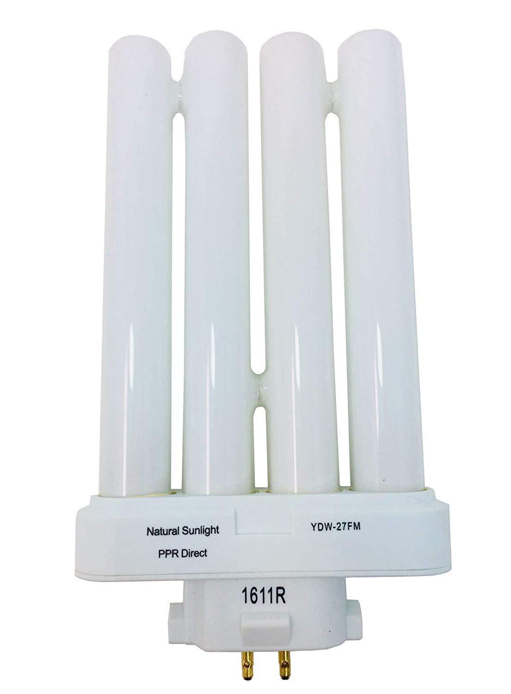 ARSUK Ampoule lumi/ère naturelle basse consommation pour lampe de chevet 27W ampoule de rechange