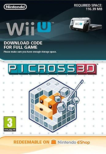 Picross 3d Ds Wii U Download Code Amazon Co Uk Pc Video Games