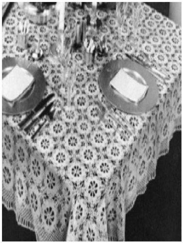 0290 Fancy Free Tablecloth Vintage Crochet Pattern Single Patterns