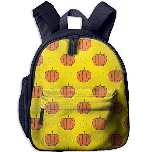 Kid's Pre School Backpack Boy&girl's Halloween Pumpkin Book Bag