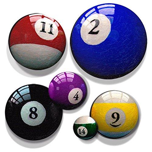 number 14 billiard ball - 8