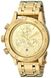 Nixon Women's A404501 38-20 Chrono Watch, Gold