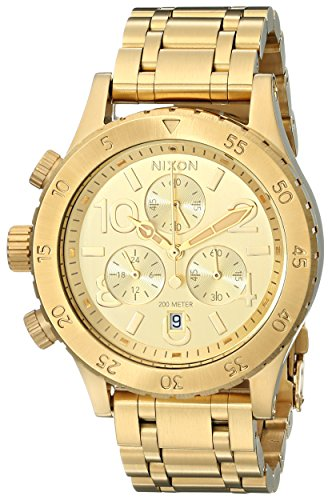 Nixon Women's A404501 38-20 Chrono Watch, Gold