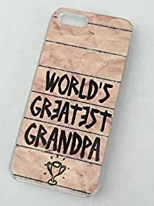 CLEAR Phone Case for iPhone 6 WORLD'S GREATEST GRANDPA
