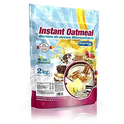 Quamtrax Nutrition Vanilla Cinnamon Avena Instantánea - 2000 gr