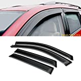 VXMOTOR Curved Style Sun Rain Guard Smoke Vent Shade Deflector Window Visors 4PC for 2003-2008 Toyota Matrix