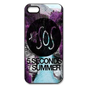 5SOS iphone 5 5s Case, Snap On TPU Cover Protection for iPhone 5 5s