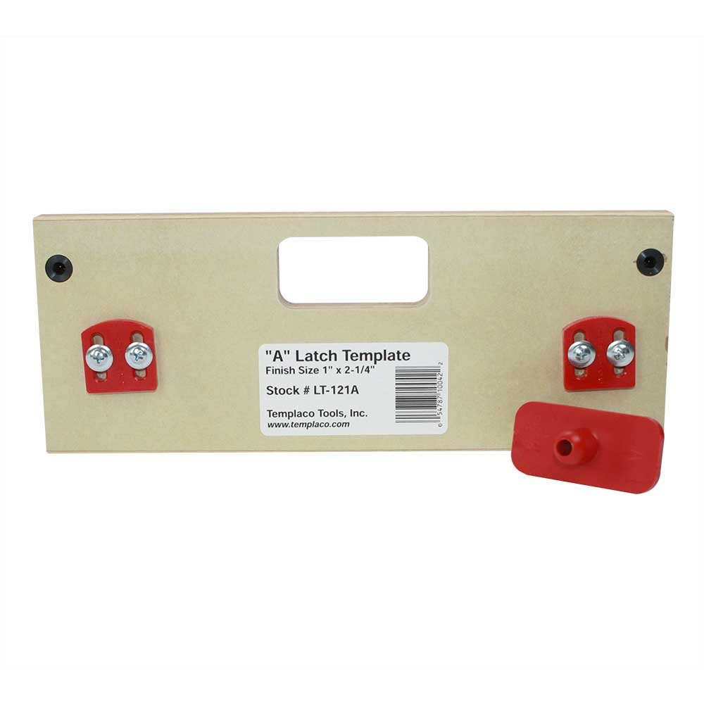 Templaco LT-121A - Latch Template by Templaco