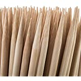 Bamboomn Bamboo Kabob Skewers, 100 Count Package of 17.5†x 5mm, Natural Bamboo, Ready to Use - Tan
