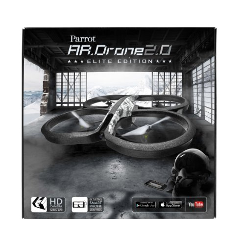 parrot ar drone 2 0 elite edition quadcopter snow import it all. Black Bedroom Furniture Sets. Home Design Ideas