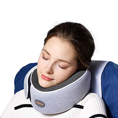 ComfoArray Adjustable According To Neck Size Travel Pillow (Grey)