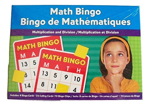 (Math Bingo ~ Multiplication and Division)