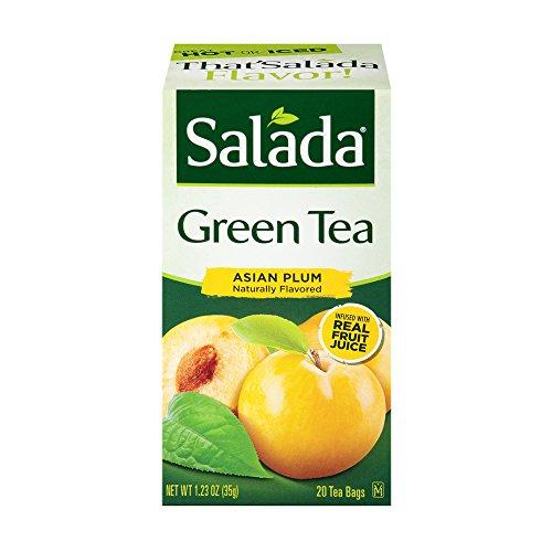 Salada Asian Plum Green Tea - 20 Count (6-Pack) (Tea Green Asian Tea)
