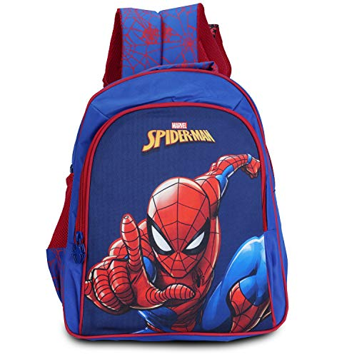Priority Spiderman 16 Inch Kids Casual/School Bag/Backpack  Blue