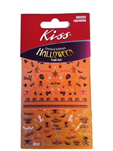 Halloween Nail Accents Art Stickers (56225) -