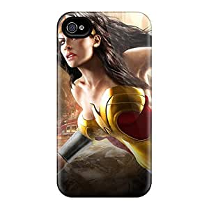 Protector Hard Cell-phone Cases For Iphone 6plus (CZk8811EMce) Support Personal Customs Stylish Wonder Woman I4 Pictures
