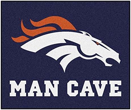 FANMATS 14299 NFL Denver Broncos Nylon Universal Man Cave Tailgater Rug