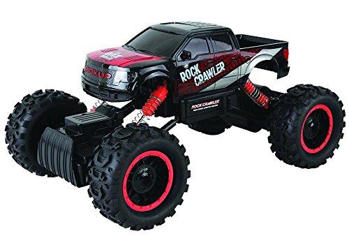 Brigamo 570 - 2.4 GHZ Rock Crawler 1:14 Ferngesteuertes Modellauto mit LED Beleuchtung, RC Auto Monstertruck ferngesteuert inkl. Akku