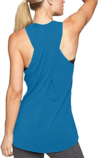 Amazon.com: LOFBAZ - Camiseta sin mangas para mujer, para ...