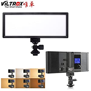 VILTROX LED Video Lighting Bi-color 3300K-5600K photography lighting