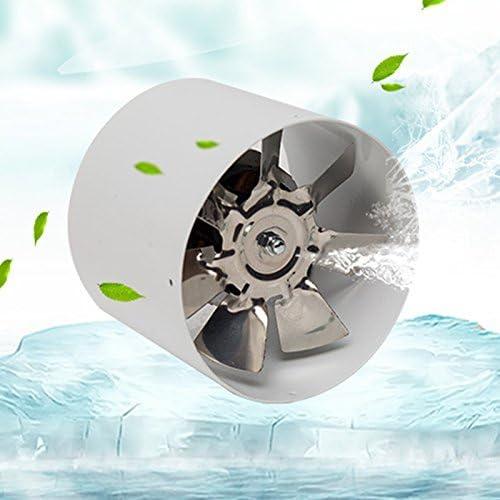 Naliovker 2800R / Min Abluftventilator Metall 220V 25W 4 Zoll Inline-Abluftventilator Abluftventilator Zubeh?R
