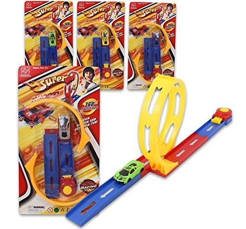 Super Launcher (Super Shoot Car Launcher Race Track Playset - Colors May Vary)