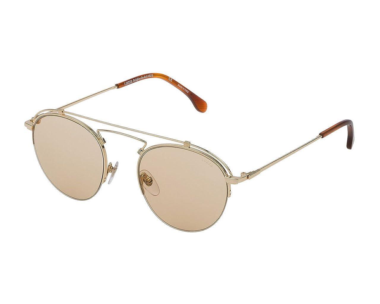 Lozza Gafas de sol unisex SL2316M (oro brillante): Amazon.es ...