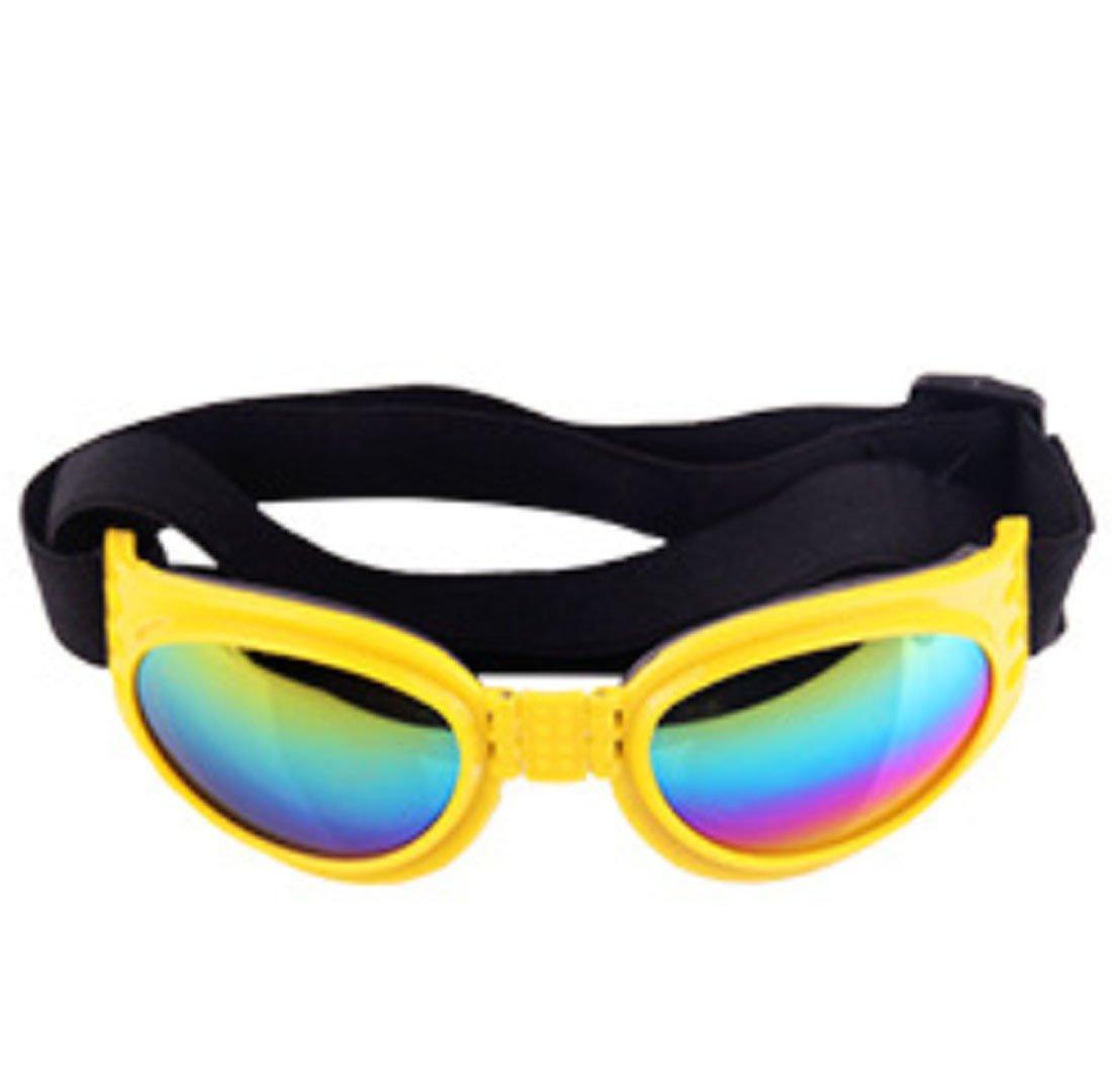 QQBL Perro Mascota Gafas De Sol Gafas De Sol Perro Espejo ...